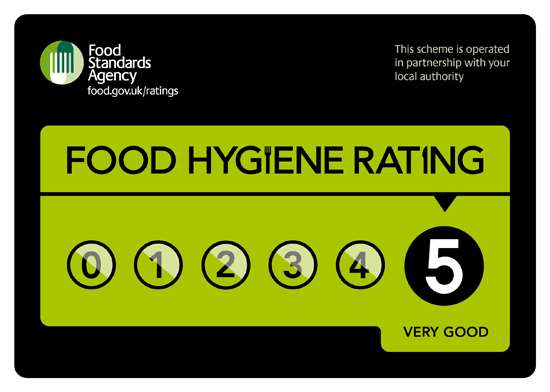 five star food hygiene rating caffe riva